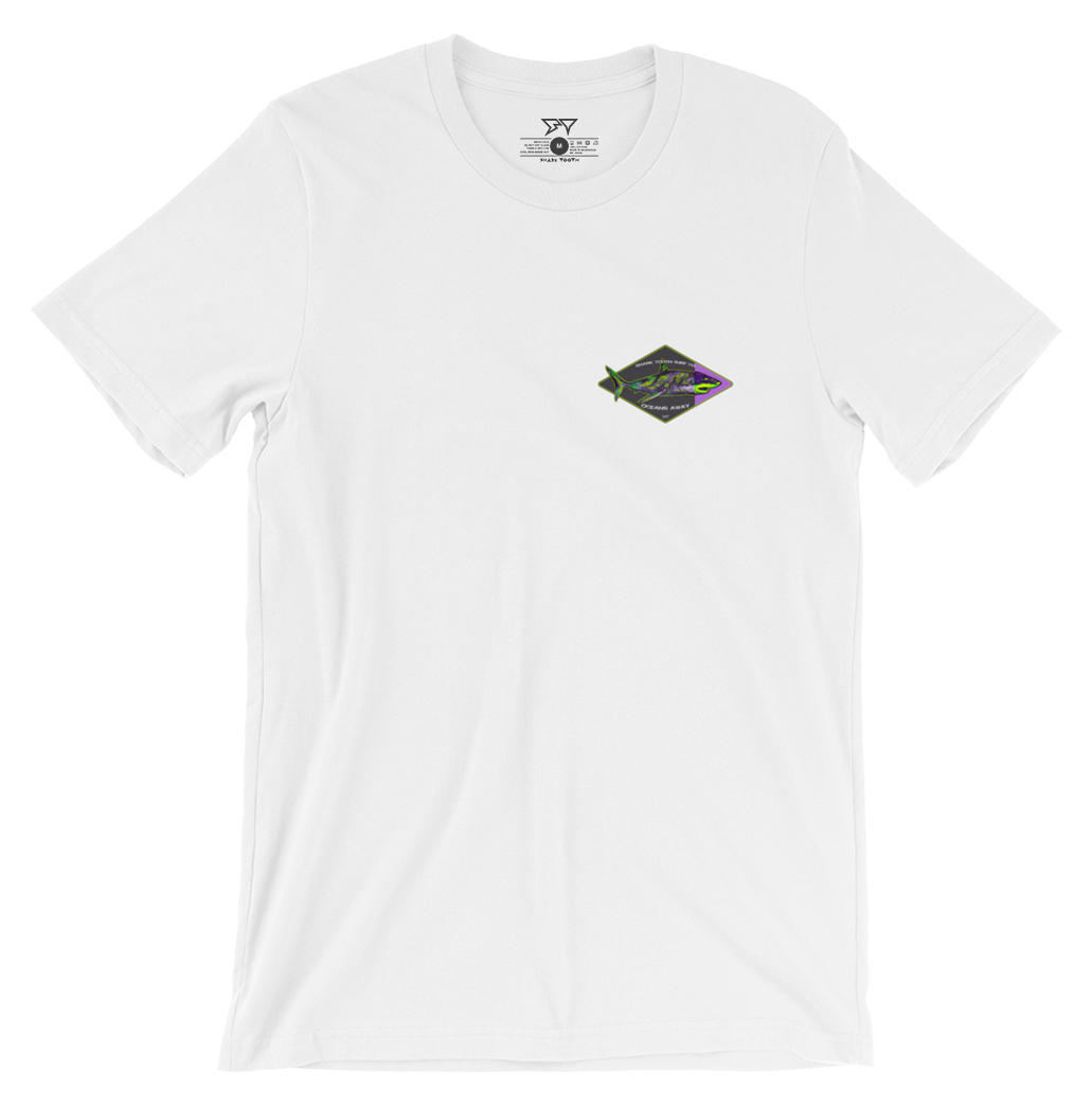 Oceans Away Tee - White - Front