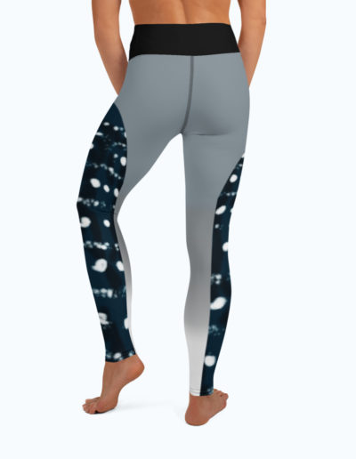 Tranquil Bay Yoga/Surf Leggings - Back View by Shark Tooth Surf Co.