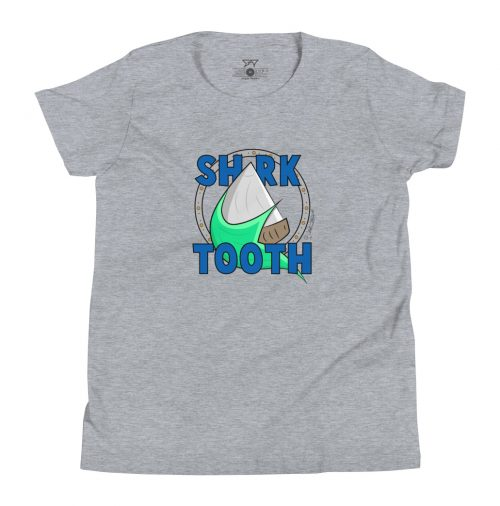 "Shark Tooth Surf Co Kids Shirt ""Ahoy"" by artist Gracie Steward"