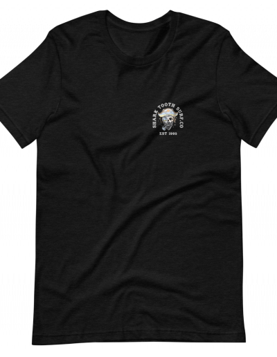 Palm Pirate Front - Black Heather