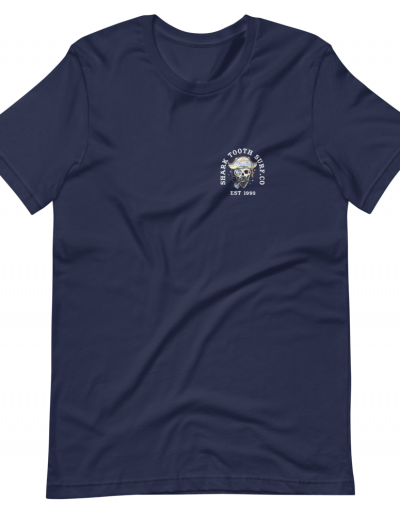 Palm Pirate Front - Navy